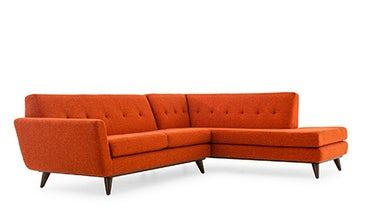 Hughes Sectional with Bumper