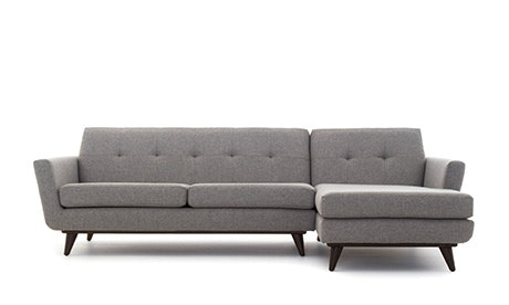 + Quick View · Hughes Sectional  sc 1 st  Joybird : mid century sectional - Sectionals, Sofas & Couches