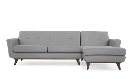 Hughes Leather Sectional