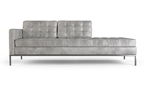 Franklin Leather Chaise