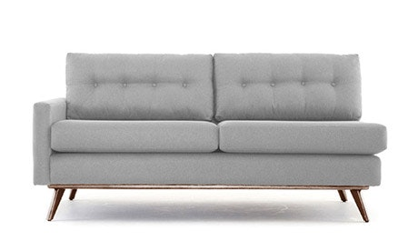 Hopson Single Arm Loveseat