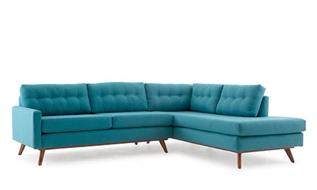 Hopson Sectional with Bumper
