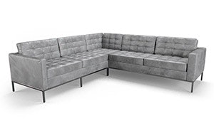 Franklin Leather Corner Sectional