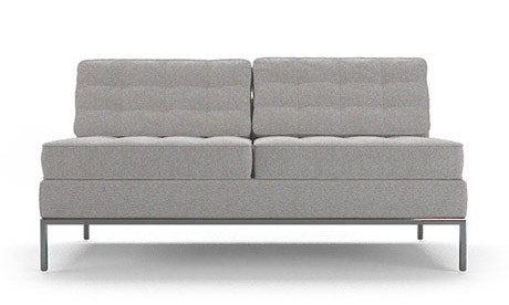 Franklin Armless Loveseat