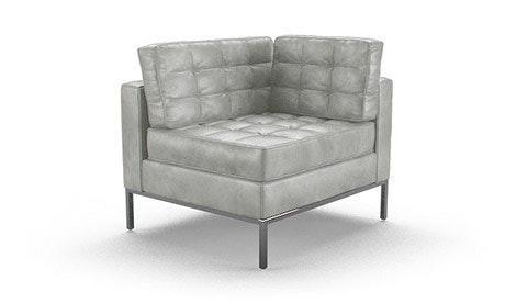 Franklin Leather Corner Chair