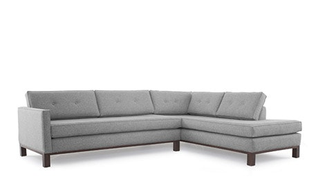 Raine Sectional with Bumper