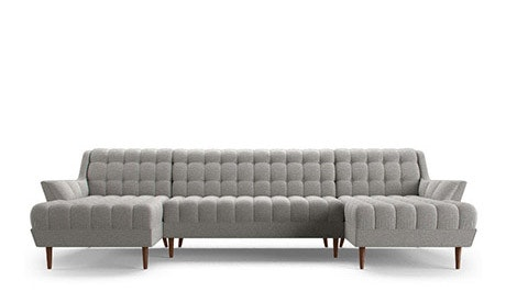 Fitzgerald U-Chaise Sectional