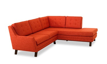 Eastwood Sectional with Bumper