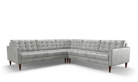 Eliot Leather Corner Sectional