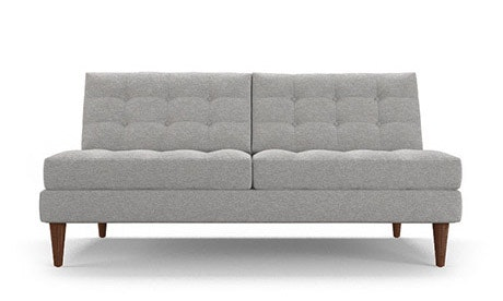 Eliot Armless Loveseat