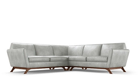 Hyland Leather Corner Sectional