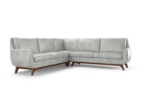 Calhoun Leather Corner Sectional
