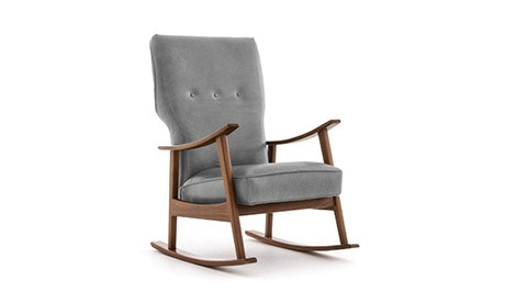 Keyser Leather Rocking Chair