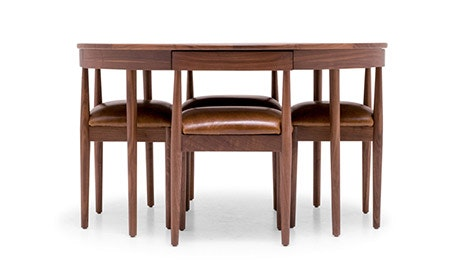 + Quick View · Toscano Leather Dining Set