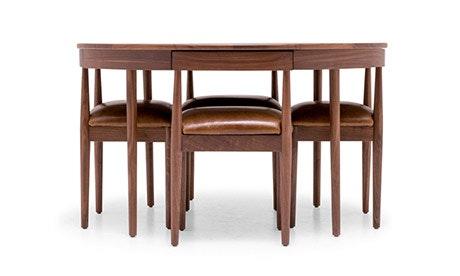 Toscano Leather Dining Set