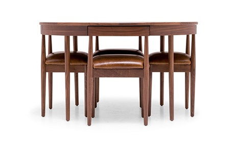 Toscano Leather Dining Set