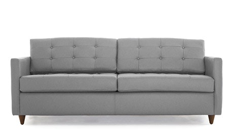 Eliot Leather Sleeper Sofa