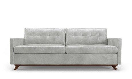Hopson Leather Sleeper Sofa