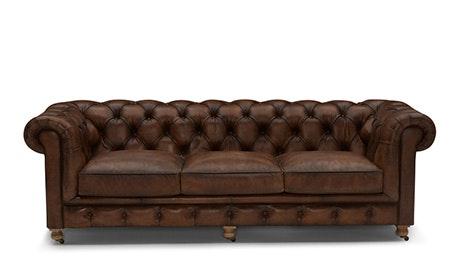 Liam Leather Sofa