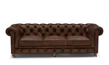 Liam Leather Sofa