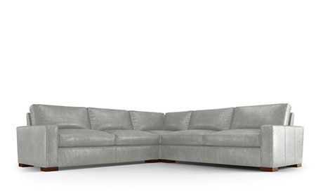 Anton Leather Corner Sectional