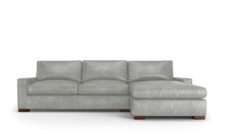 Anton Leather Sectional