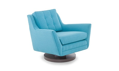 Elegant + Quick View · Eastwood Swivel Chair