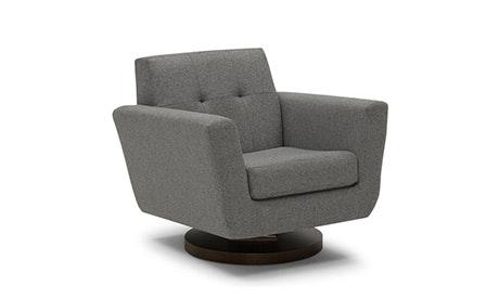 Mid Century Modern Swivel Chairs Joybird