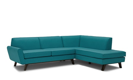 Hyland Sectional with Bumper