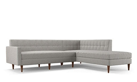 Korver Sectional with Bumper