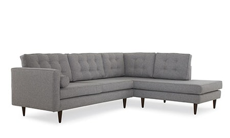 Braxton Sectional with Bumper