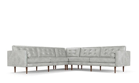 Braxton Leather Corner Sectional