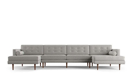 Braxton U-Chaise Sectional