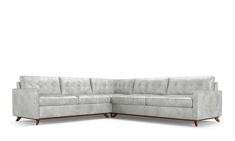Hopson Leather Corner Sectional Sleeper