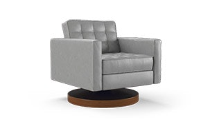 Franklin Leather Swivel Chair