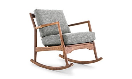 Collins Leather Rocking Chair