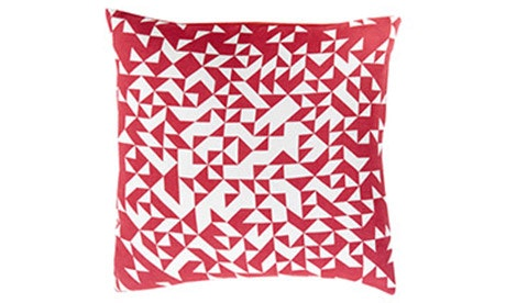 Sash (Red) Pillow