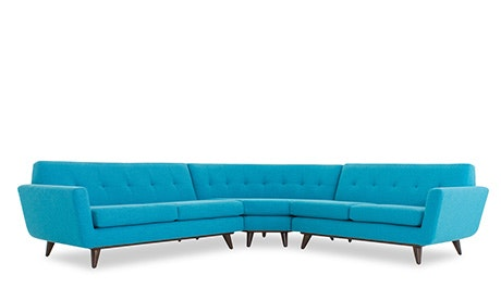 Hughes Round Corner Sectional