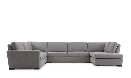 Anton U-Sofa Bumper Sectional