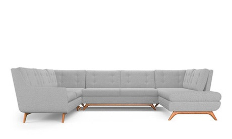 Eastwood U-Sofa Bumper Sectional