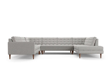 Eliot U-Sofa Bumper Sectional