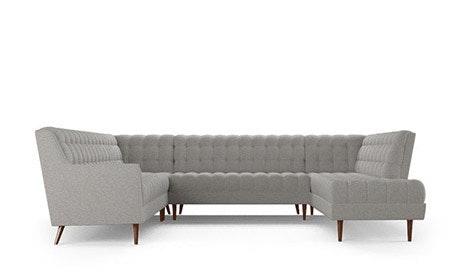 Fitzgerald U-Sofa Bumper Sectional