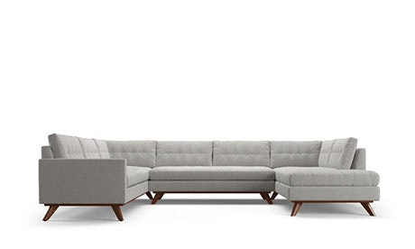 Hopson U-Sofa Bumper Sectional