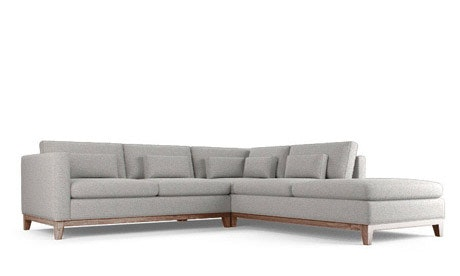 Boyd Sectional with Bumper