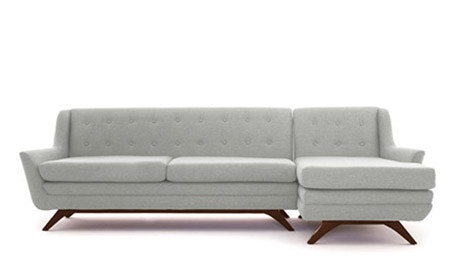 Aubrey Leather Sectional