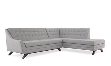 Aubrey Sectional with Bumper (2 piece)