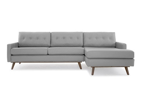 Hopson Leather Sectional