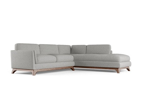 Woodson Sectional with Bumper