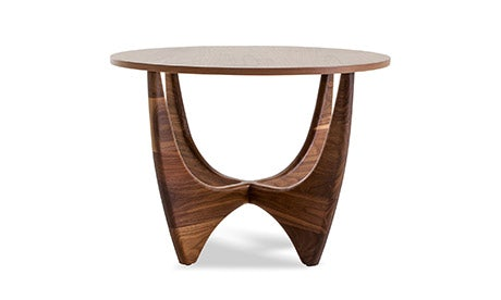 Stern (Wood Top) End Table