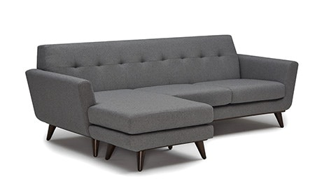 Quick Ship + Quick View · Hughes Reversible Sectional